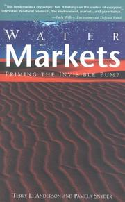 Water markets by Terry Lee Anderson