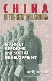 Cover of: China in the New Millennium | James A. Dorn