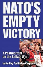 Cover of: NATO's Empty Victory: A Postmortem on the Balkan War