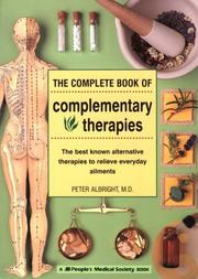 Cover of: The complete book of complementary therapies