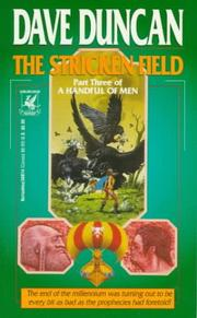 Cover of: Stricken Field (A Handful of Men, Part 3)