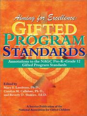 Cover of: Aiming for Excellence  | Mary S. Landrum