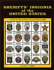 Cover of: Sheriffs' Insignia of the United States