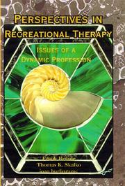 Cover of: Perspectives in Recreational Therapy |