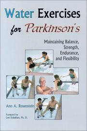 Cover of: Water Exercises for Parkinson