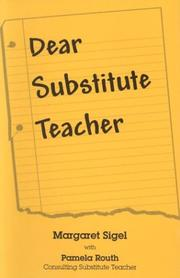 Cover of: Dear substitute teacher