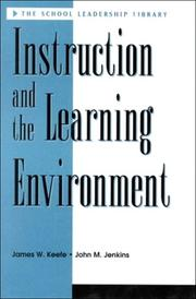 Cover of: Instruction and the learning environment