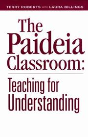 Cover of: The Paideia classroom