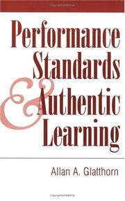 Performance Standards and Authentic Learning