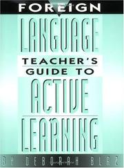 Cover of: Foreign language teacher's guide to active learning