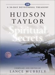 Cover of: Hudson Taylor on Spiritual Secrets (30-Day Devotional Treasury)