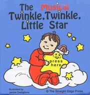 Cover of: The Musical Twinkle, Twinkle, Little Star (Rub a Dub Book) | Janice Castiglione