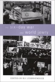 Cover of: The Six-Day War and World Jewry (Studies and Texts in Jewish History and Culture, 8) | Eli Lederhendler