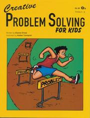Cover of: Creative Problem Solving for Kids