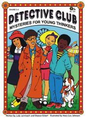 Cover of: Detective Club, Mysteries for Young Thinkers