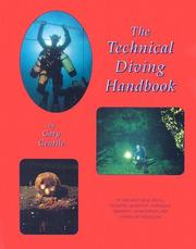 Cover of: The technical diving handbook by Gary Gentile
