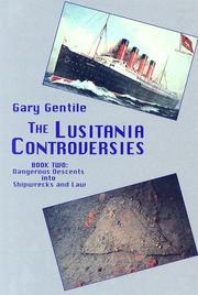 Cover of: The Lusitania Controversies - Book Two