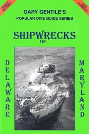 Cover of: Shipwrecks of Delaware and Maryland