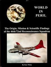 Cover of: World in Peril