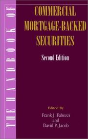 The Handbook of Commercial Mortgage-Backed Securities, 2nd Edition by