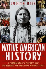 Cover of: Native American history