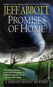 Cover of: Promises of home: Jeff Abbott.