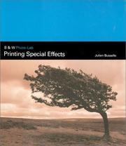 Cover of: Printing Special Effects