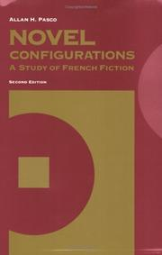 Cover of: Novel Configurations | Allan Pasco