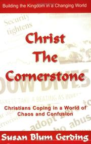 Cover of: Christ the Cornerstone