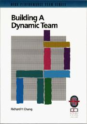 Cover of: Building a dynamic team
