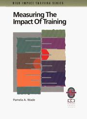 Cover of: Measuring the impact of training
