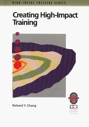 Cover of: Creating high-impact training