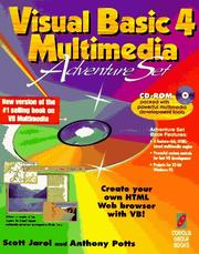 Cover of: Visual Basic 4 multimedia adventure set