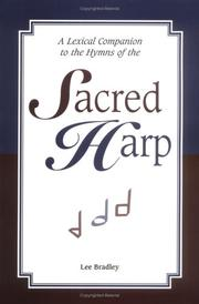 Cover of: A Lexical Companion to the Hymns of the Sacred Harp |