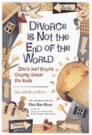Cover of: Divorce is not the end of the world | Zoe Stern