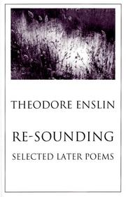 Cover of: Re-Sounding: Selected Later Poems