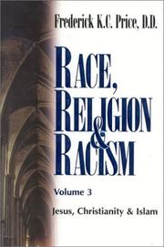 Cover of: Race, Religion and Racism