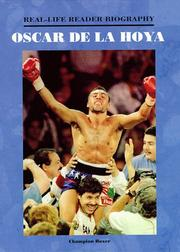 Cover of: Oscar De LA Hoya
