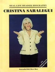 Cover of: Cristina Saralegui