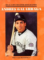 Cover of: Andres Galarraga