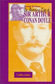 Cover of: The mysterious case of Sir Arthur Conan Doyle