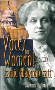 Votes for Women! by Barbara A. Somervill