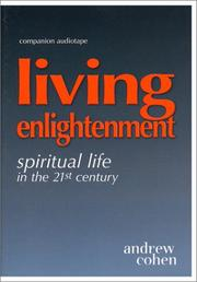 Cover of: Living Enlightenment Companion Audiotape |
