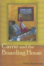 Cover of: Carrie and the boarding house