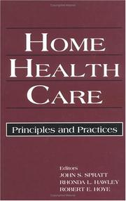 Cover of: Home Health Care