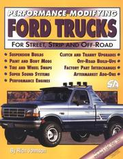 Cover of: Performance modifying Ford trucks for street, strip, and off-road