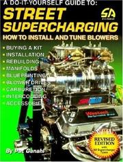 Cover of: Street supercharging