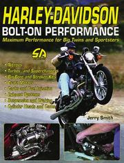 Cover of: Harley-Davidson bolt-on performance | Smith, Jerry