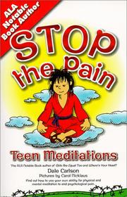 Cover of: Stop the pain, I want to get off!: meditations for teens