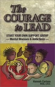 Cover of: The Courage to Lead | Hannah Carlson